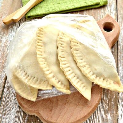 Чебуреки для заморозки - рецепт с фото