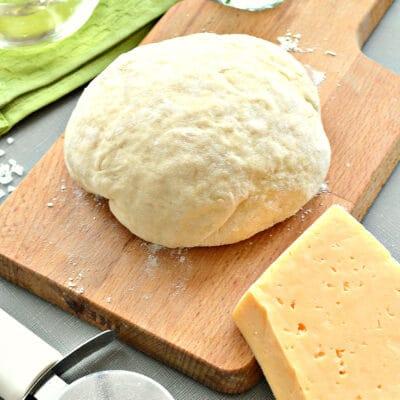 Тесто для пиццы на кефире - рецепт с фото