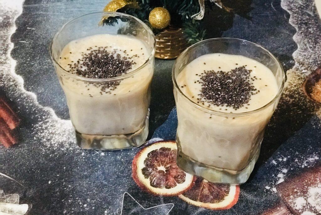 Фото рецепта - Фруктовый смузи с семенами чиа - шаг 5