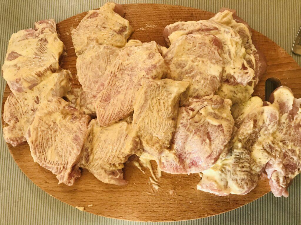 Фото рецепта - Свиные чипсы - шаг 2