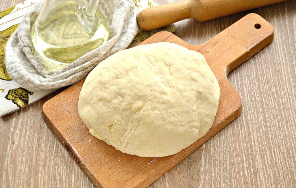Фото рецепта - Дрожжевое тесто на сметане - шаг 8