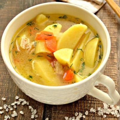 Картофельная похлебка с курицей - рецепт с фото