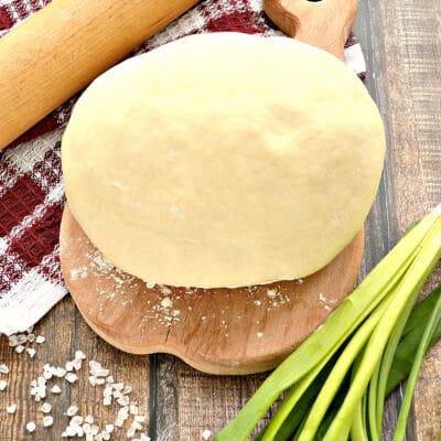 Тесто для мантов на воде и растительном масле - рецепт с фото