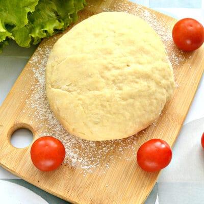 Тесто для пиццы на майонезе - рецепт с фото