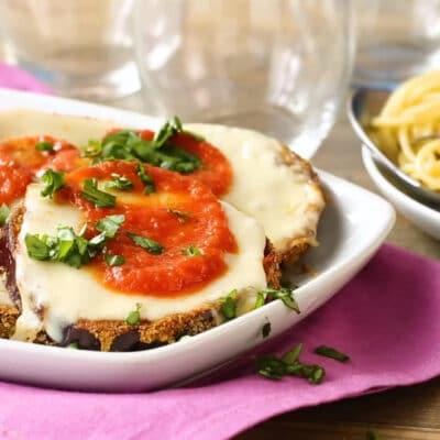 Хрустящие баклажаны с сыром во фритюрнице - рецепт с фото