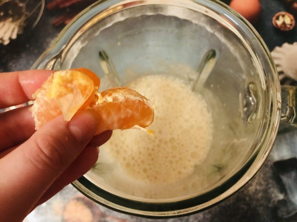 Фото рецепта - Фруктовый смузи с семенами чиа - шаг 2