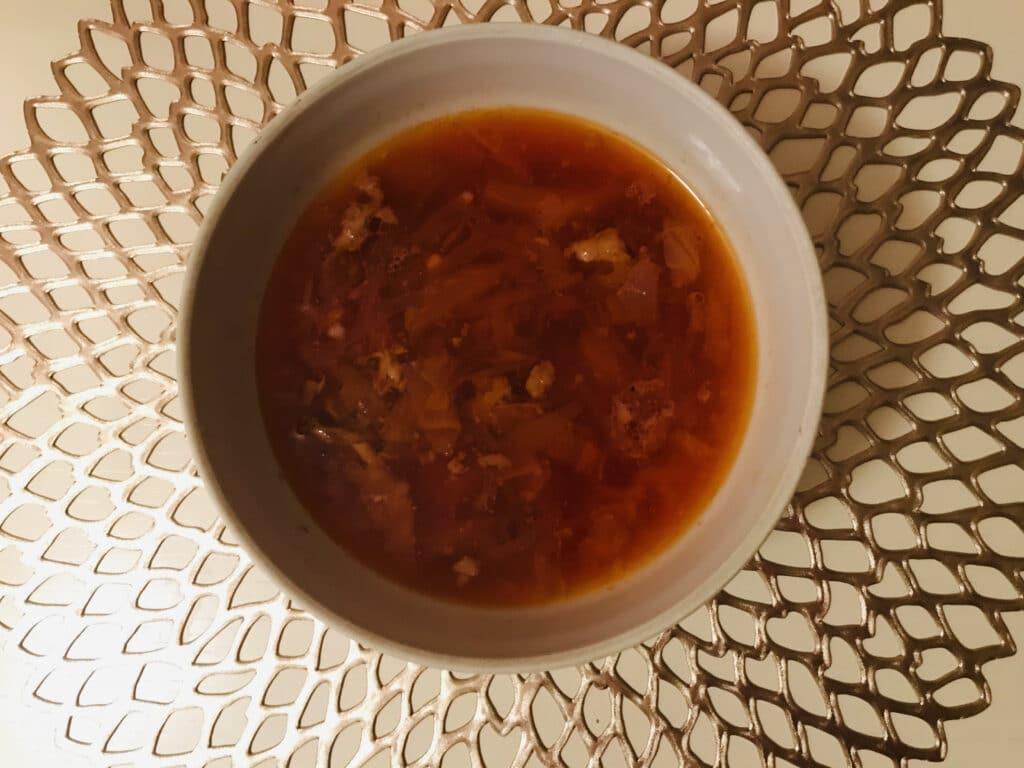 Фото рецепта - Борщ на бульоне из свиных рёбрышек - шаг 10
