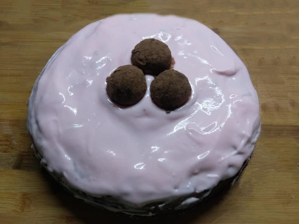 Фото рецепта - Быстрый торт из покупных бисквитов - шаг 6