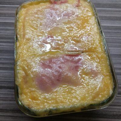 Картофельная запеканка с докторской колбасой и сыром - рецепт с фото