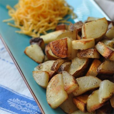 Жареный картофель по-деревенски - рецепт с фото