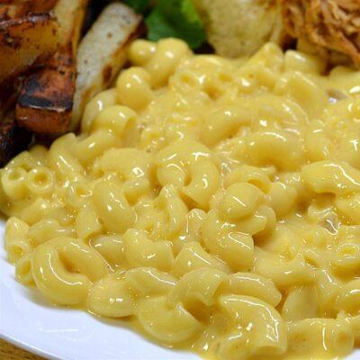 Макароны с сыром в микроволновке - рецепт с фото