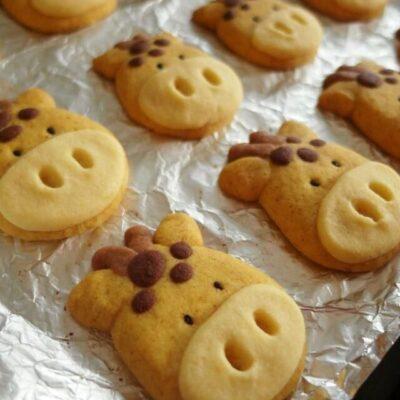 """Песочное печенье """"Бычки"""" - рецепт с фото"""