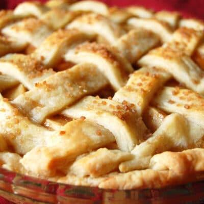 Яблочный пай - рецепт с фото