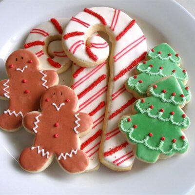 Мягкое сахарное печенье (самое лучшее) - рецепт с фото
