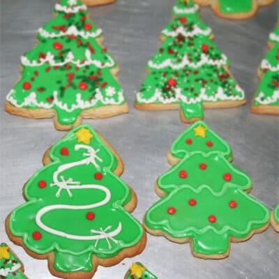 Простое песочное печенье - рецепт с фото