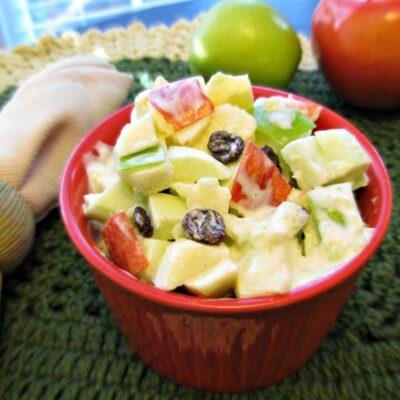 Вальдорфский салат - рецепт с фото