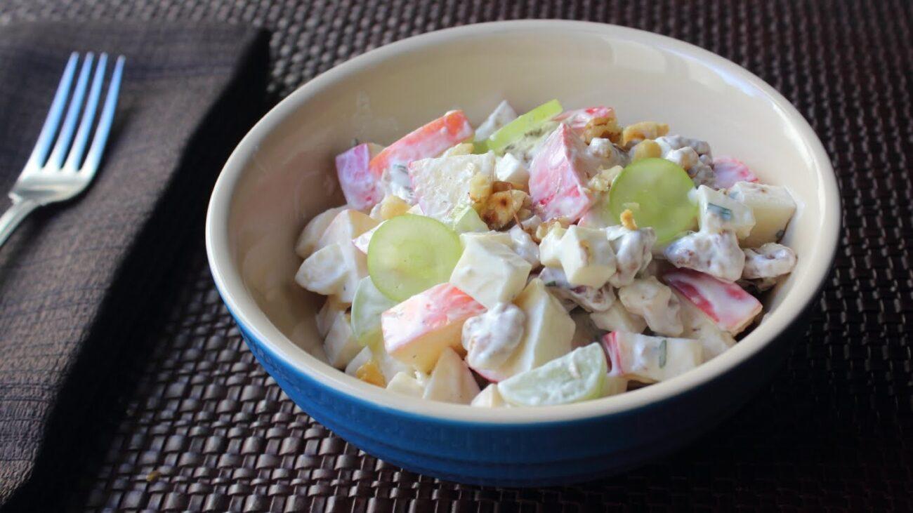 Вальдорфский салат с фруктами