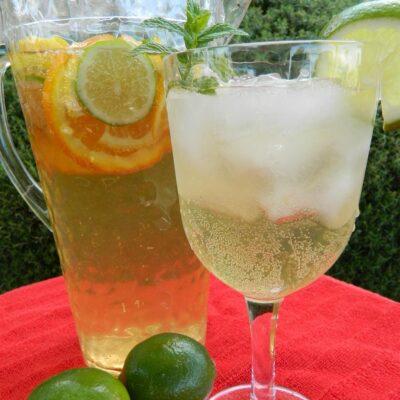 Белая цитрусовая сангрия - рецепт с фото