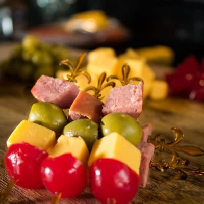 Канапе праздничное - рецепт с фото