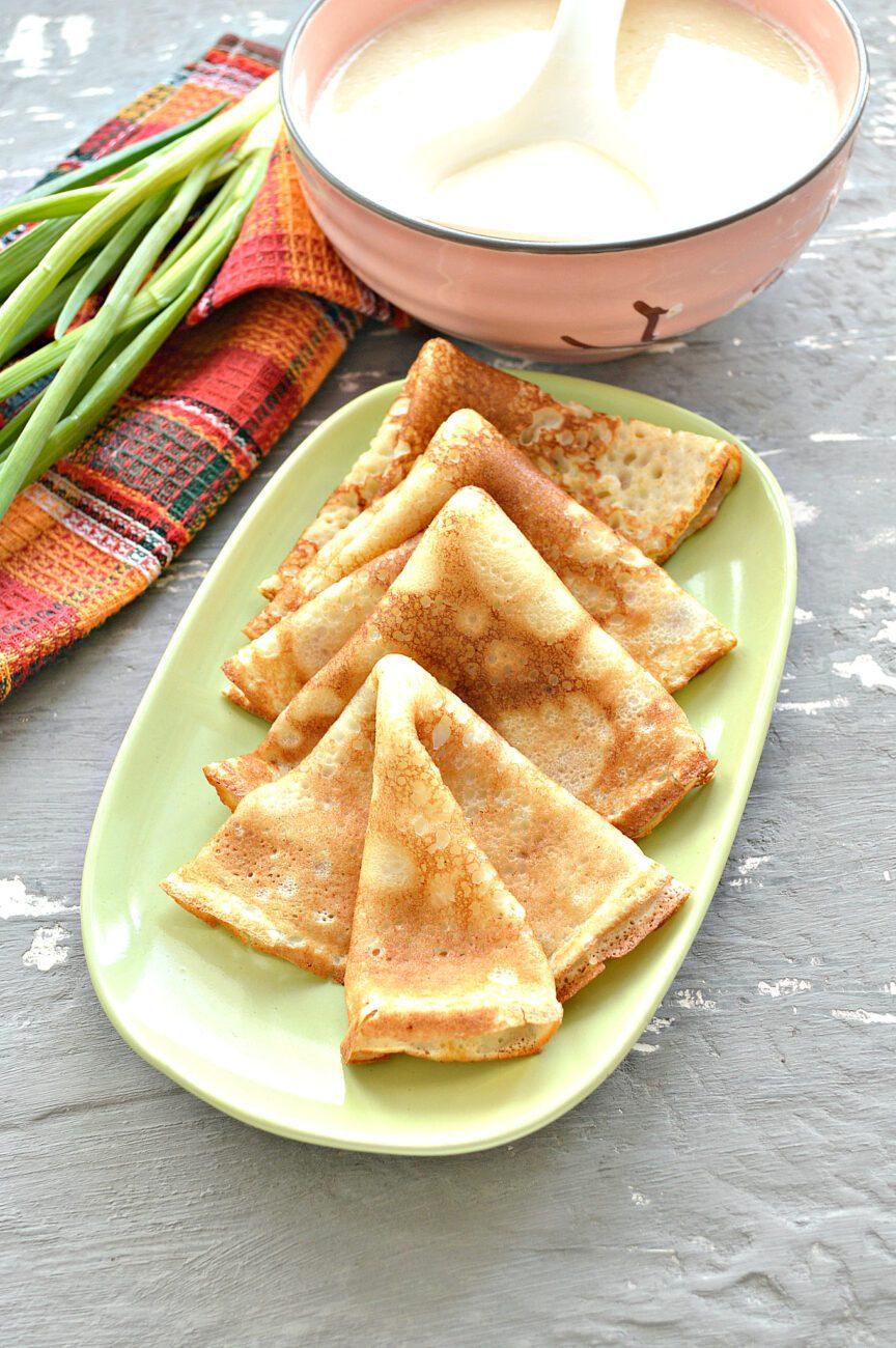 Тесто для ажурных блинчиков на кипятке