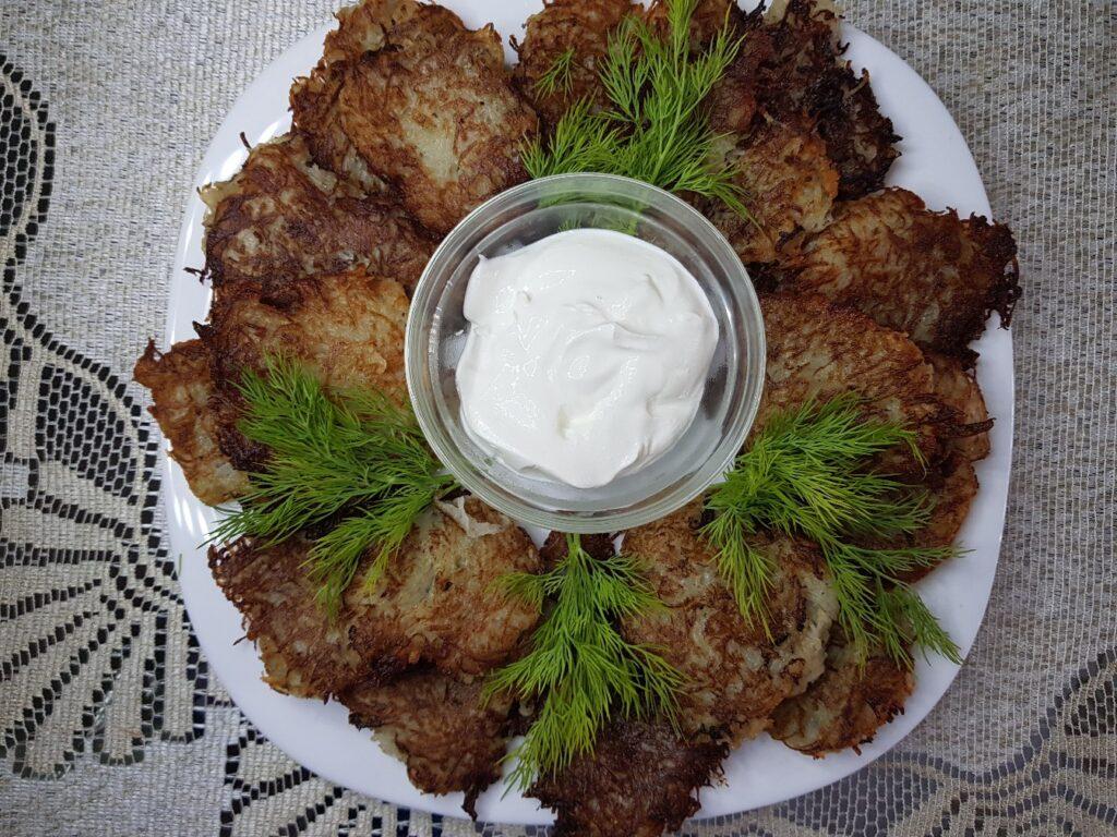 Фото рецепта - Картофельные оладьи - шаг 5