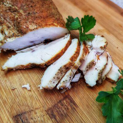 Бастурма из куриной грудки в духовке - рецепт с фото