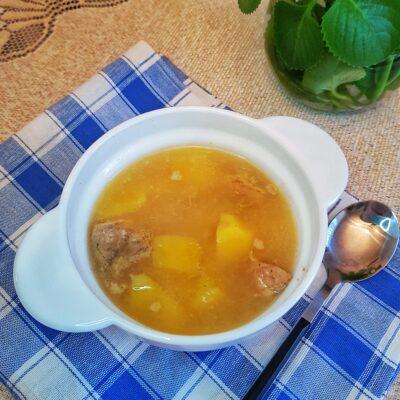 Картофель, тушеный со свининой - рецепт с фото