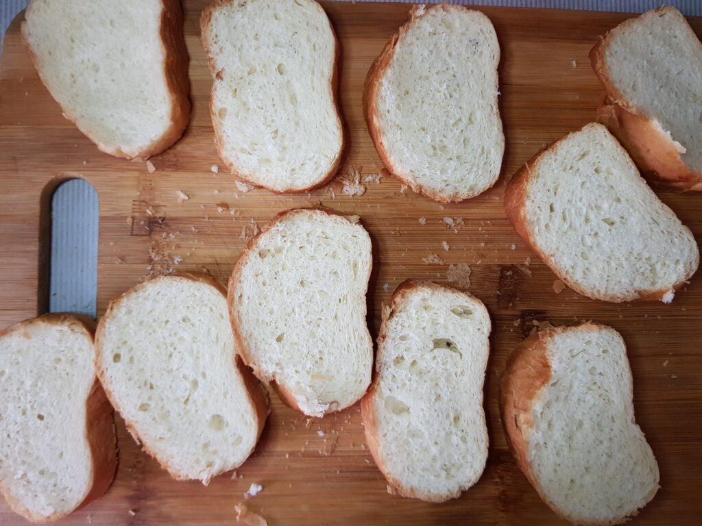 Фото рецепта - Бутерброды с припёком на сковороде - шаг 4