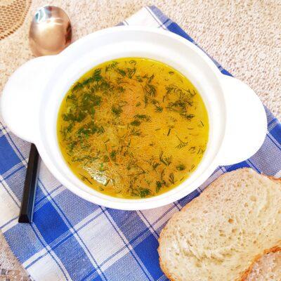Кубанский суп с пшеном и копчёной колбасой - рецепт с фото