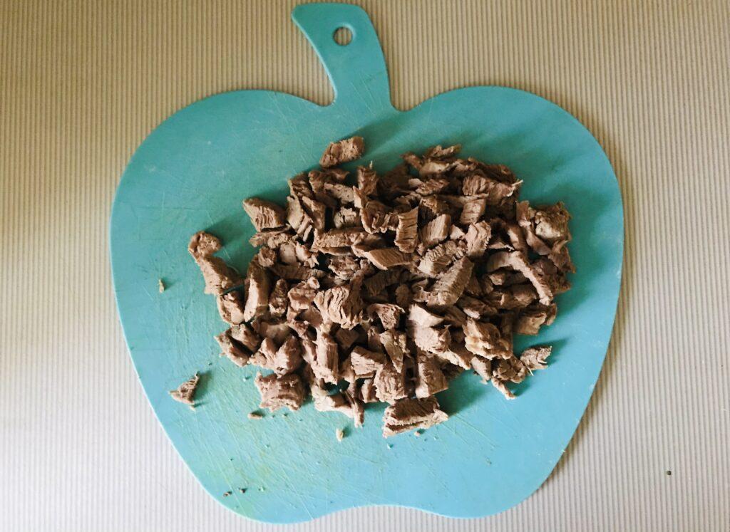 Фото рецепта - Овощной суп на свином бульоне - шаг 5