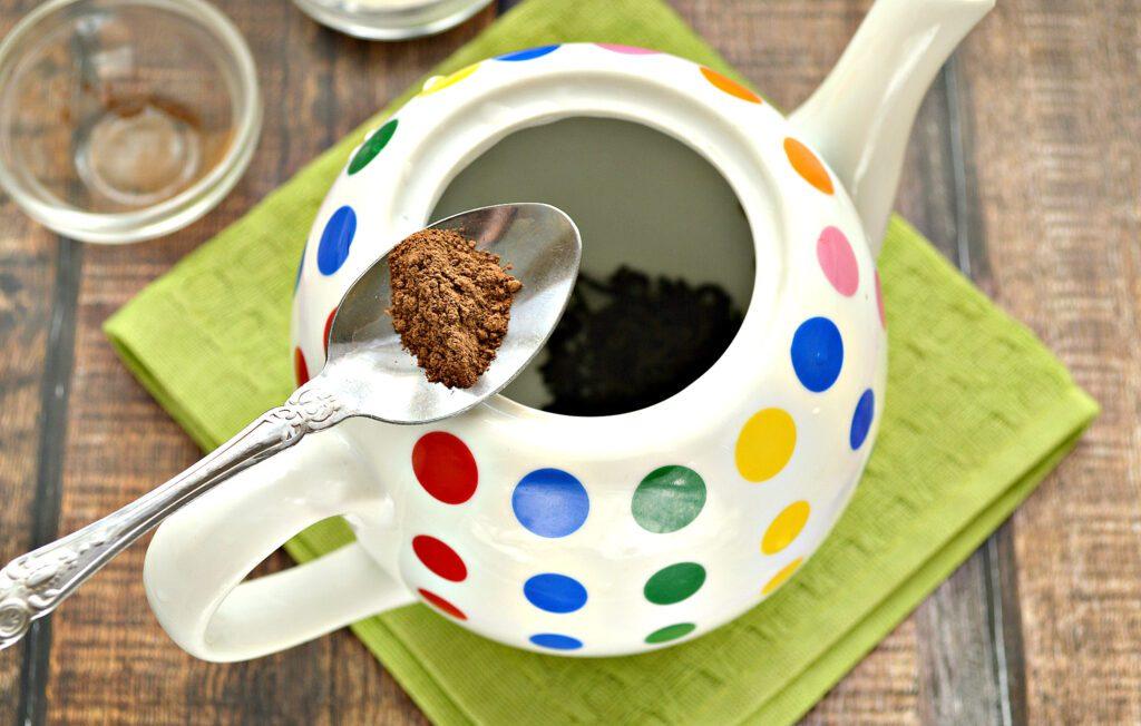 Фото рецепта - Чай с молотой корицей - шаг 3