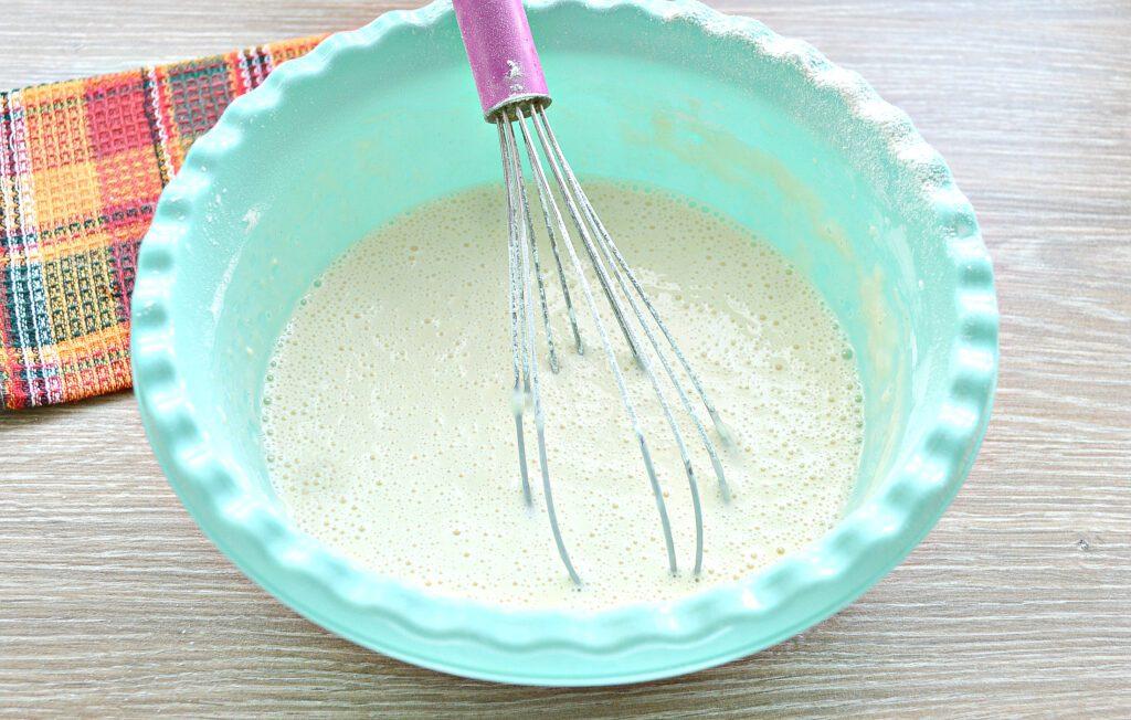 Фото рецепта - Тесто для ажурных блинчиков на кипятке - шаг 5