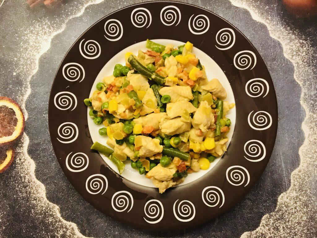 Фото рецепта - Тушеное куриное филе по-мексикански - шаг 6