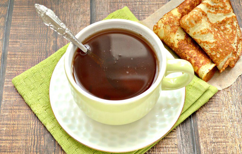 Фото рецепта - Чай с молотой корицей - шаг 7