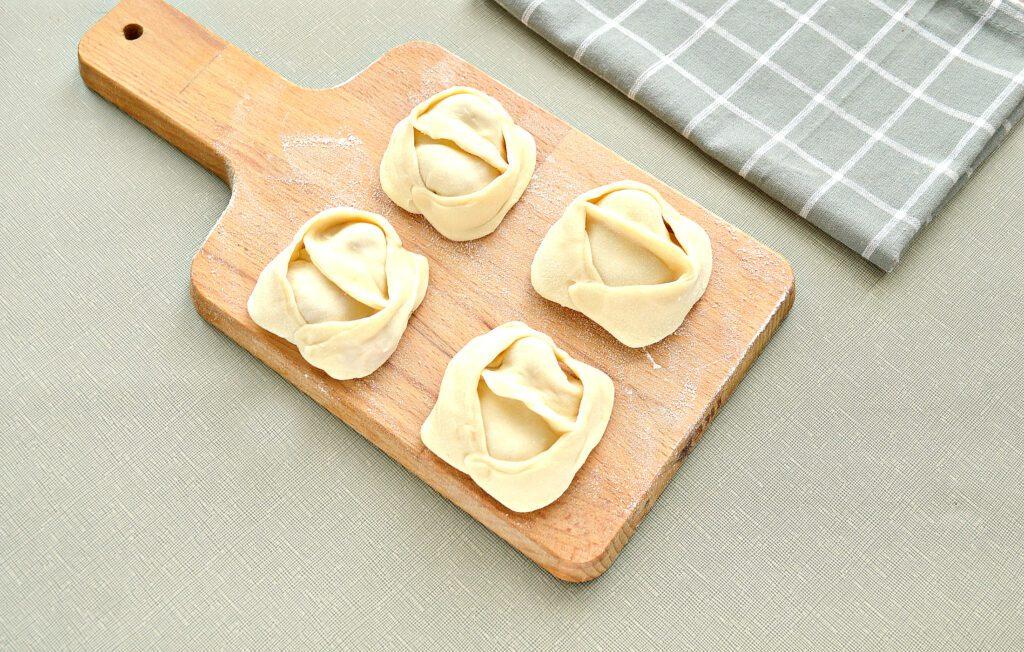 Фото рецепта - Начинка для мантов со свининой и капустой - шаг 7
