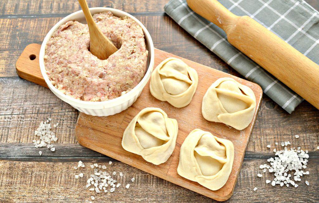 Фото рецепта - Начинка для мантов со свининой и капустой - шаг 8