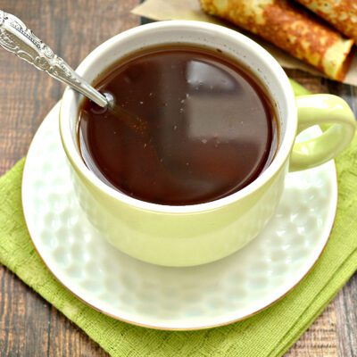 Чай с молотой корицей - рецепт с фото