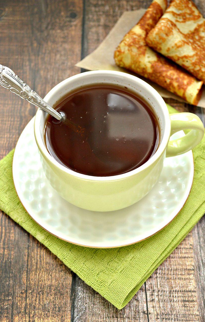 Чай с молотой корицей