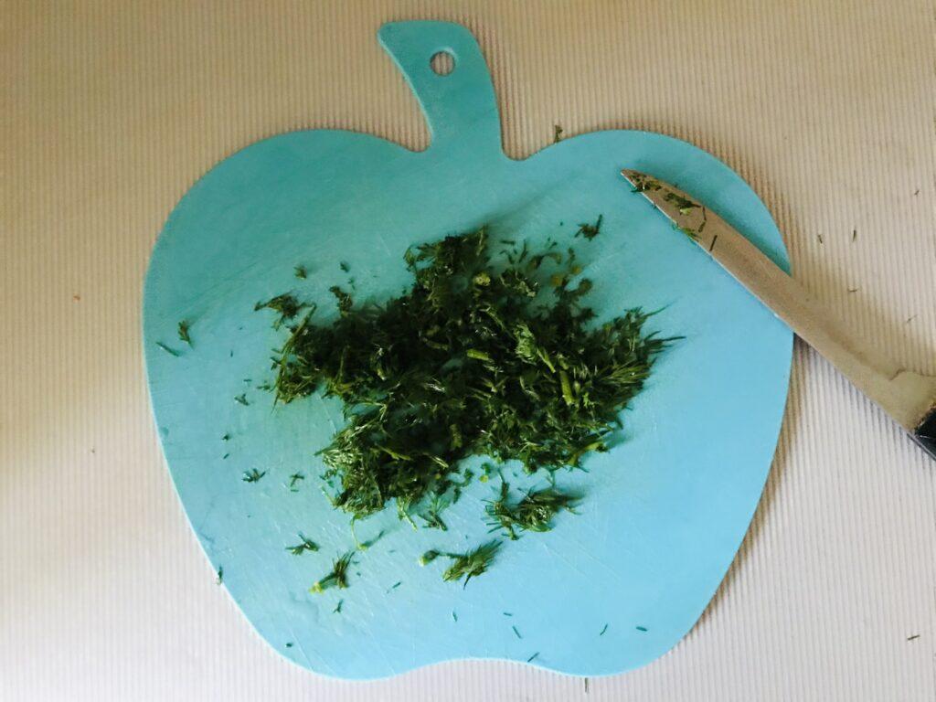 Фото рецепта - Овощной суп на свином бульоне - шаг 7