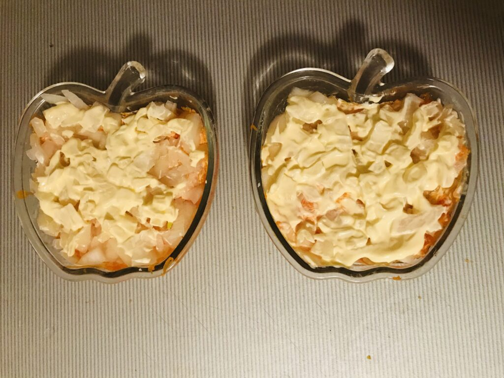 Фото рецепта - Салат «Мимоза» с тунцом - шаг 5