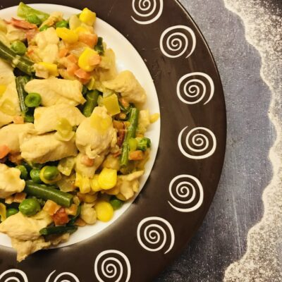 Тушеное куриное филе по-мексикански - рецепт с фото