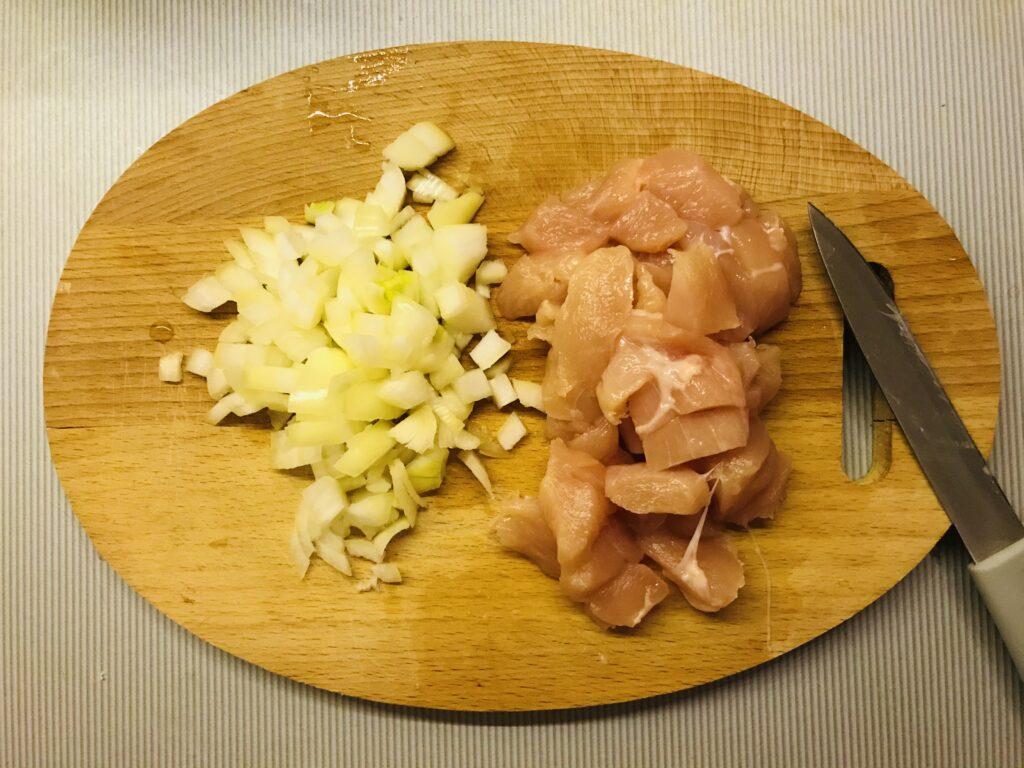 Фото рецепта - Тушеное куриное филе по-мексикански - шаг 1