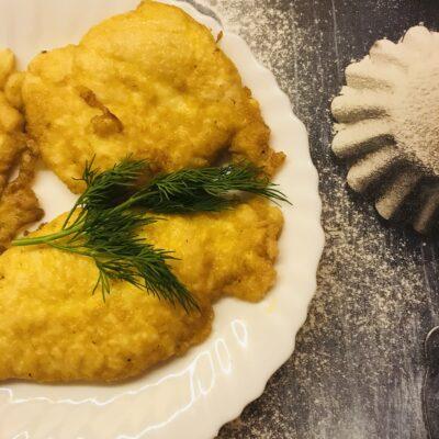 Куриные отбивные в нежном кляре - рецепт с фото