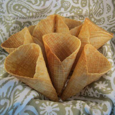Вафли-рожок - рецепт с фото