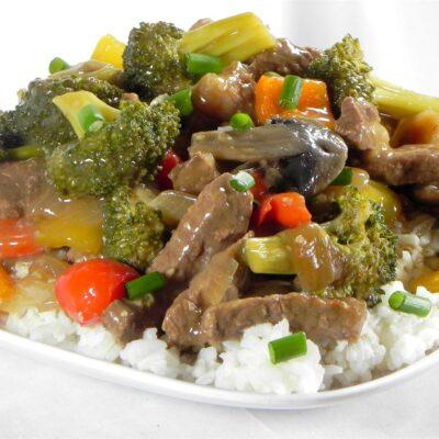 Говядина, тушеная с овощами - рецепт с фото