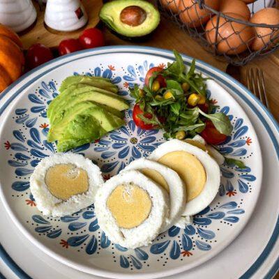 Прямое яйцо (яичный рулет) - рецепт с фото
