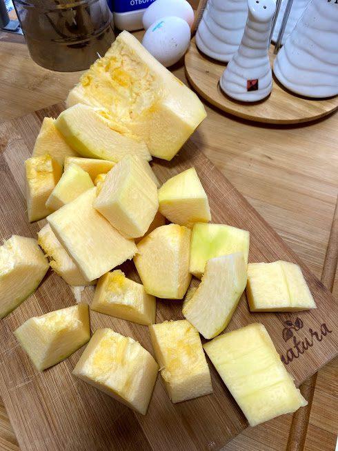 Фото рецепта - Блины из кабачков на молоке - шаг 2