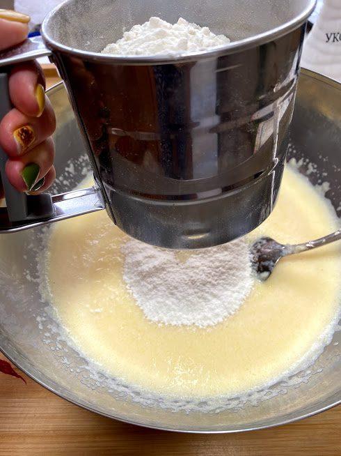 Фото рецепта - Блины из кабачков на молоке - шаг 8