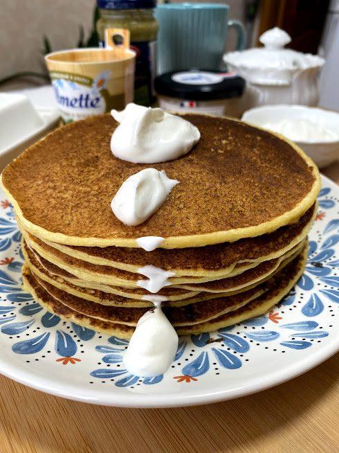 Фото рецепта - Блины из кабачков на молоке - шаг 12