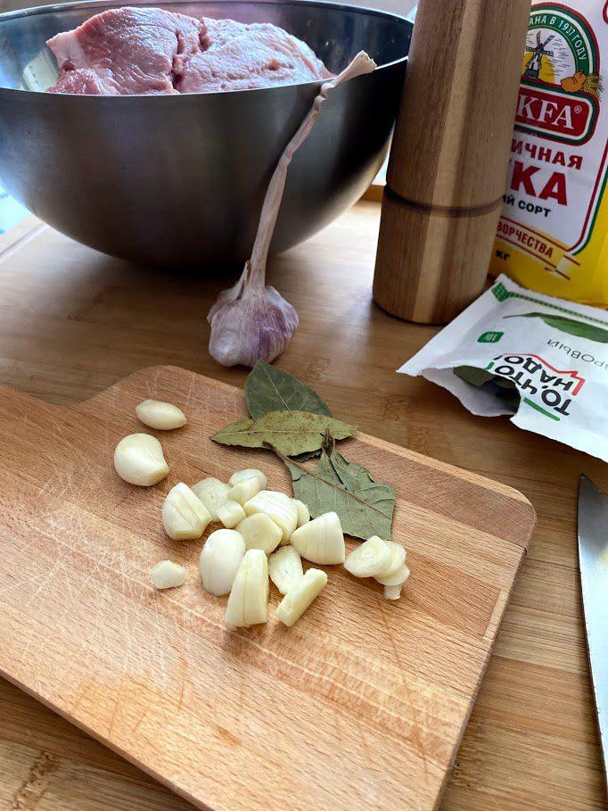 Фото рецепта - Запеченное мясо - шаг 2